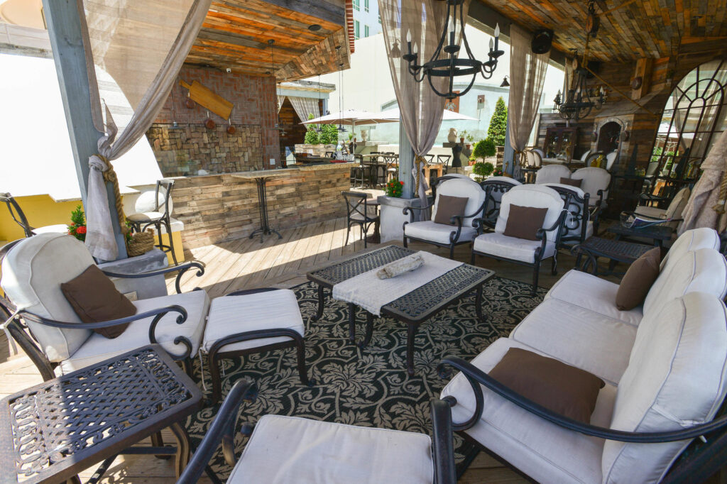 The Rooftop Club at the Olive Boutique Hotel