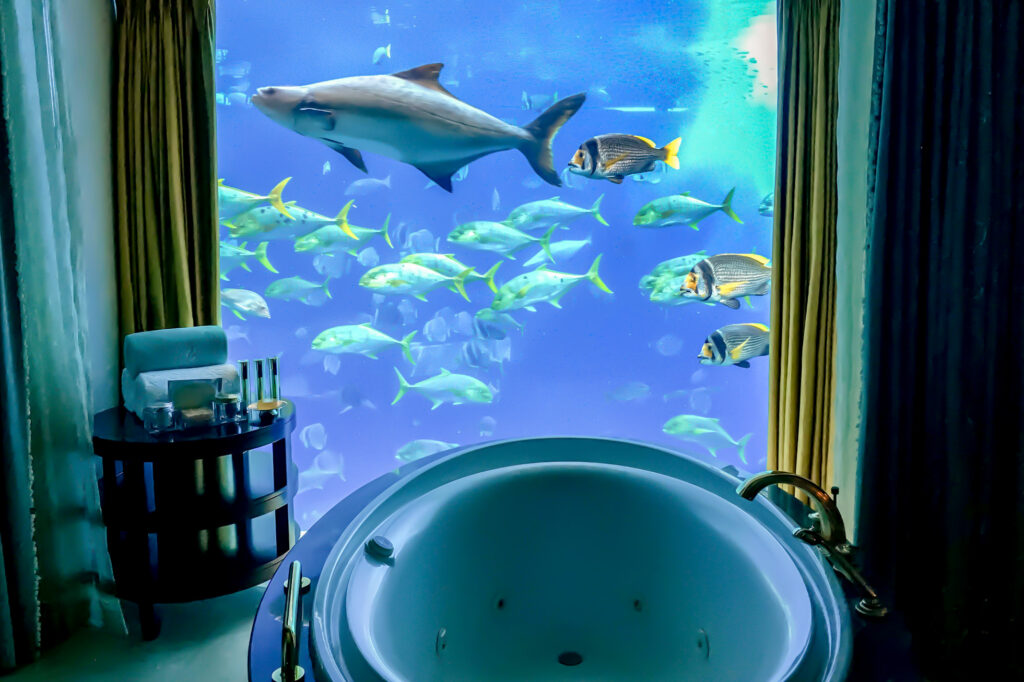 The Underwater Suite at the Atlantis, The Palm