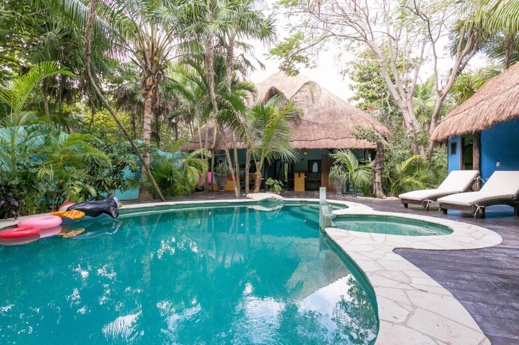 The Zanzibar Villa at the Cabanas La Luna