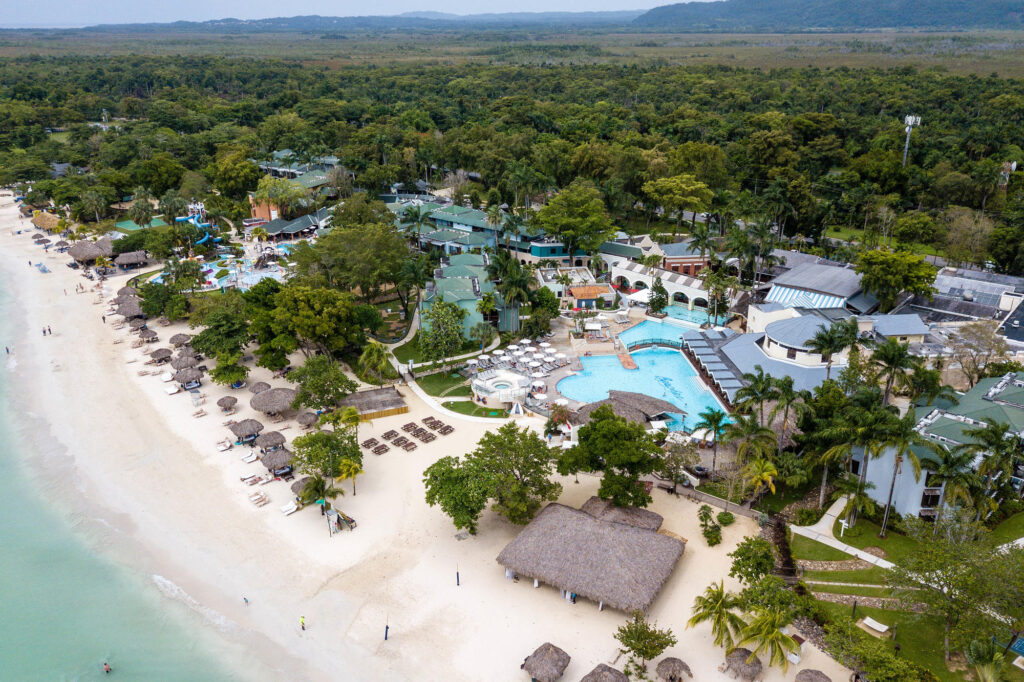 Aerial Photography at the Beaches Negril Resort & Spa