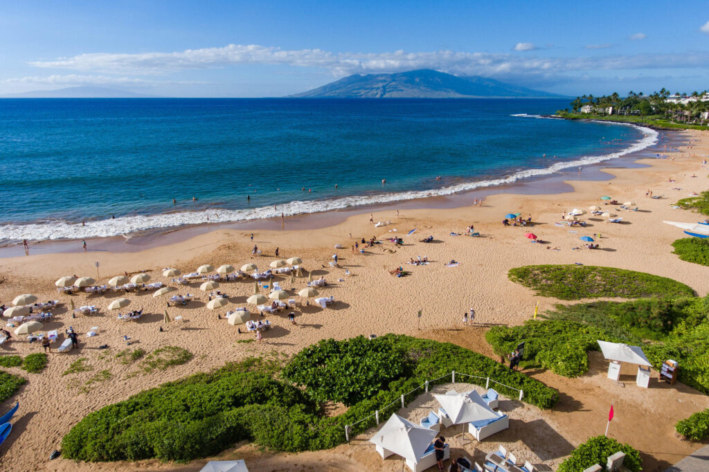 Aerial Photography at the Four Seasons Maui at Wailea