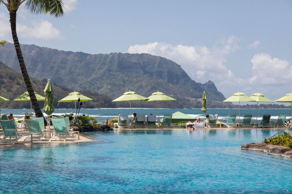 Pool at the Princeville Resort