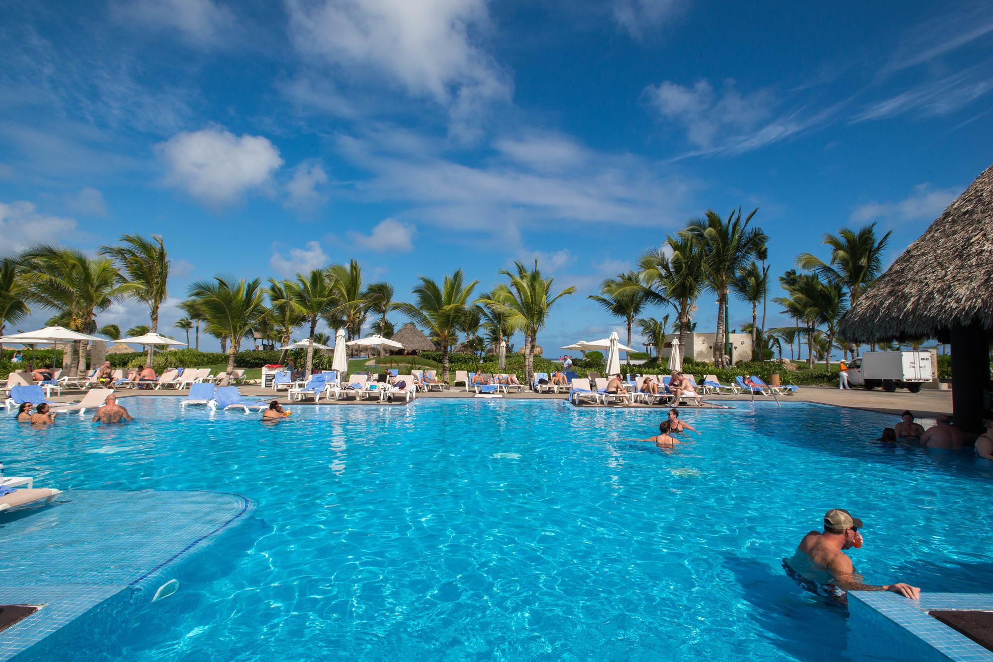 The Guitar Pool at the Hard Rock Hotel & Casino Punta Cana