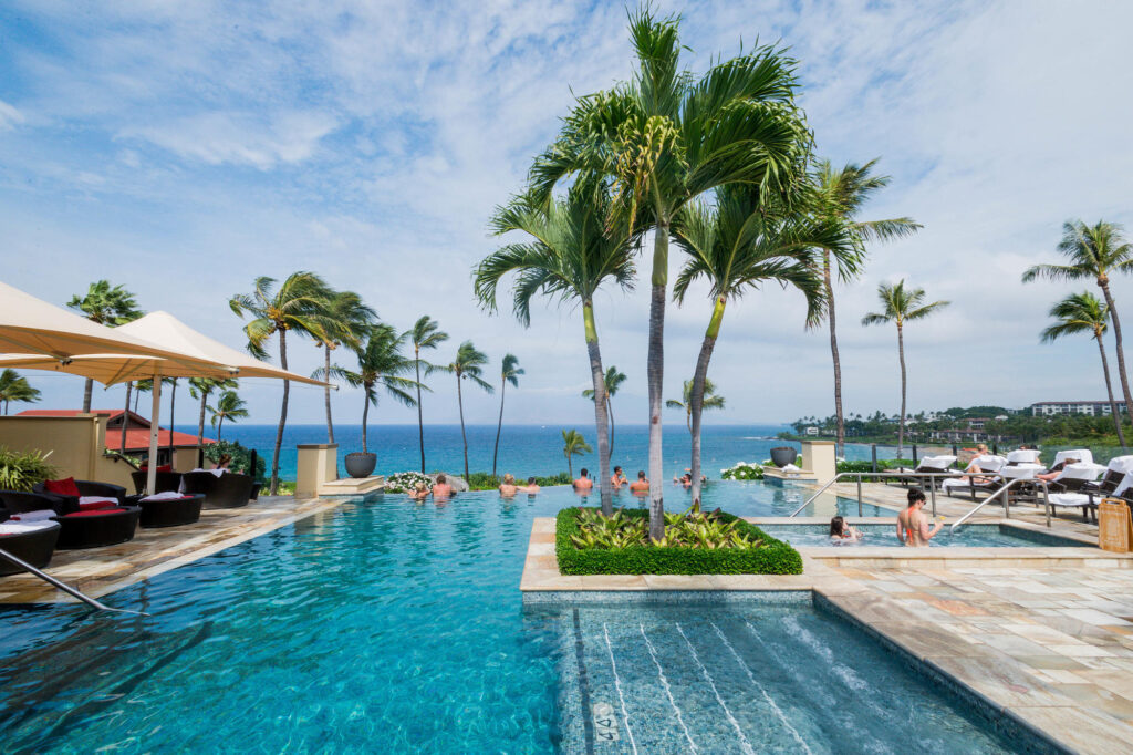 The Serenity Pool at the Four Seasons Resort Maui at Wailea