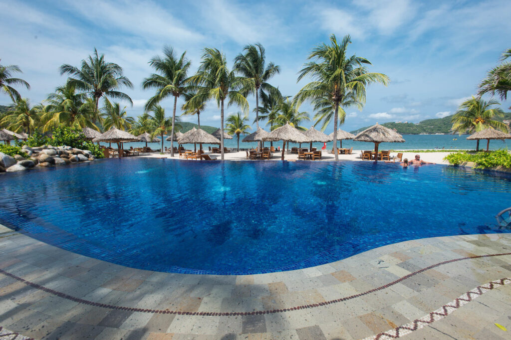 The Adults-only Pool at the Thompson Zihuatanejo