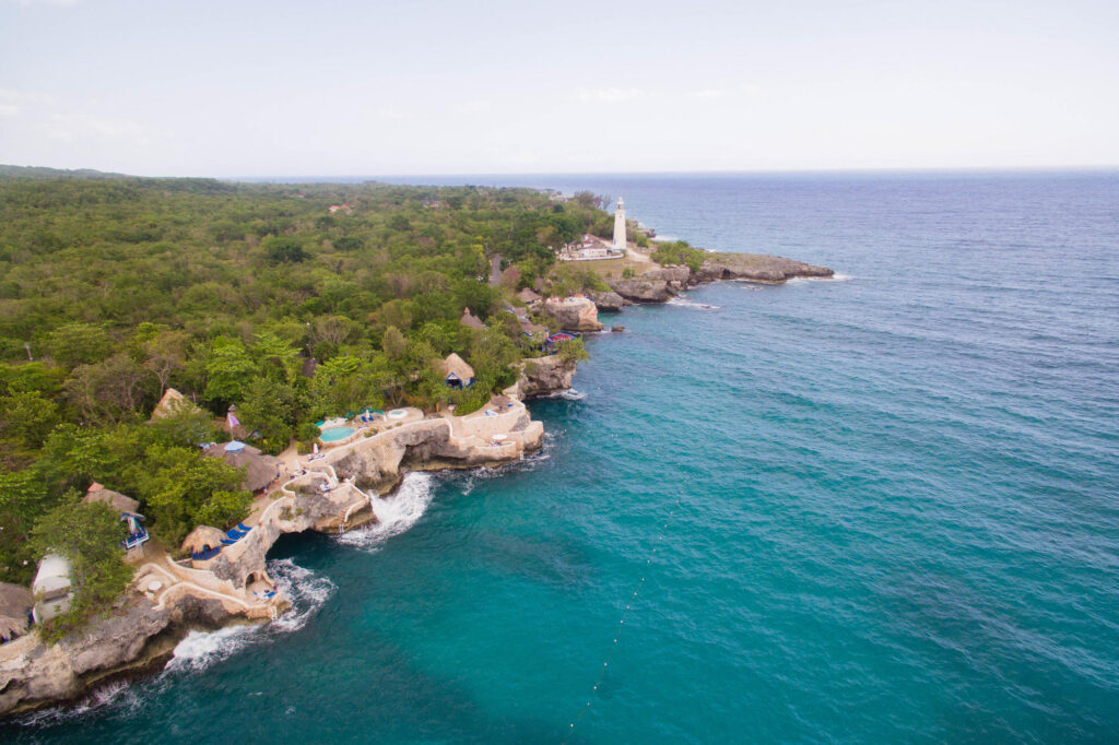 Aerial Photography at The Caves
