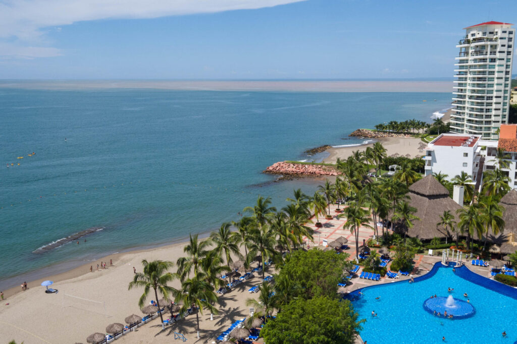 Aerial Photography at the Melia Puerto Vallarta All Inclusive