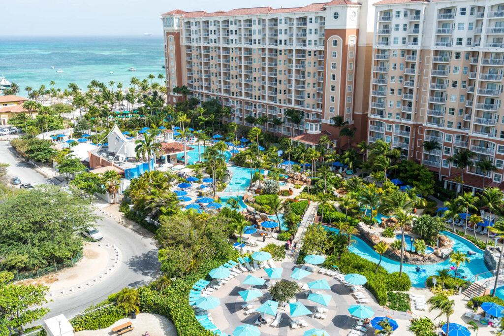 The Aerial Pool at the Marriott's Aruba Surf Club