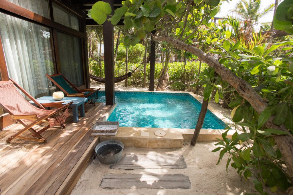 The Arena Suite at the Be Tulum Hotel