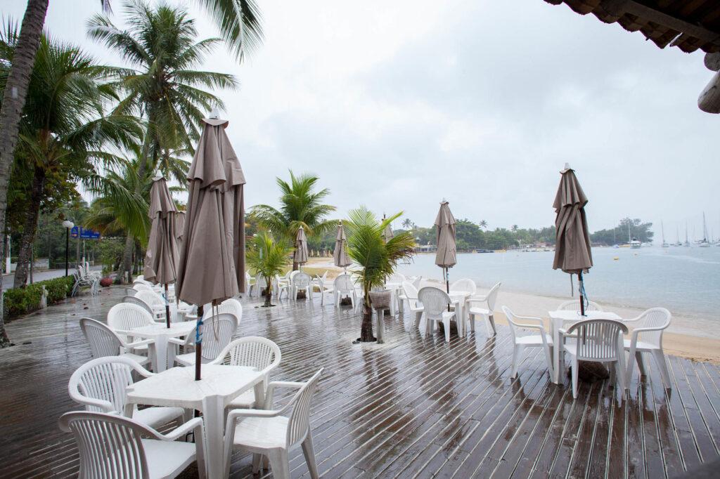 Beach Bar at the Itapemar Hotel