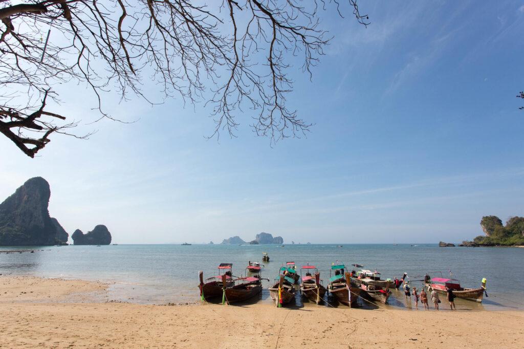 Beach at the Tonsai Bay Resort