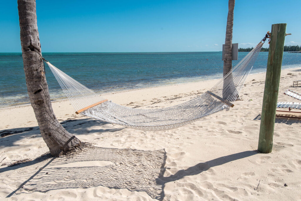 Beach at the Old Bahama Bay