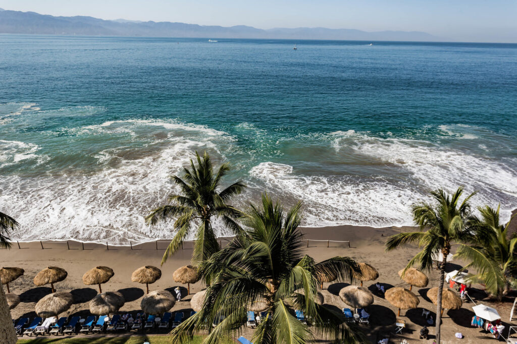 Beach at the Marriott Puerto Vallarta Resort & Spa