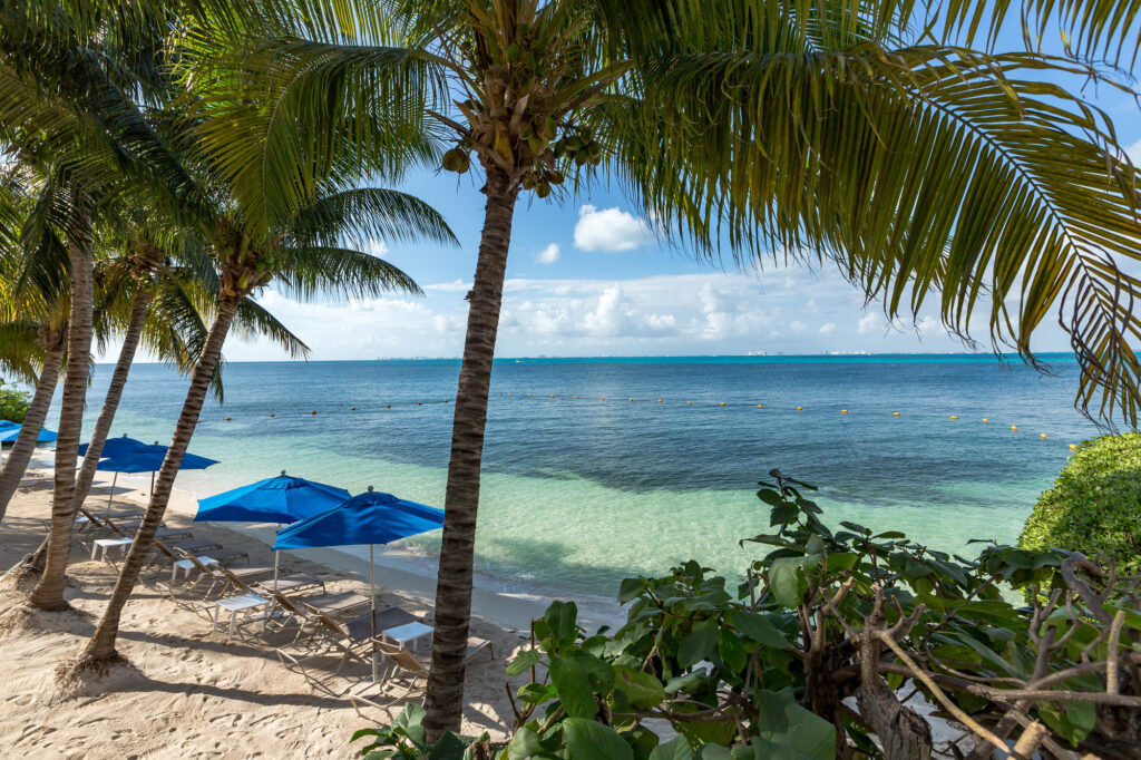 Beach at the Zoetry Villa Rolandi Isla Mujeres Cancun