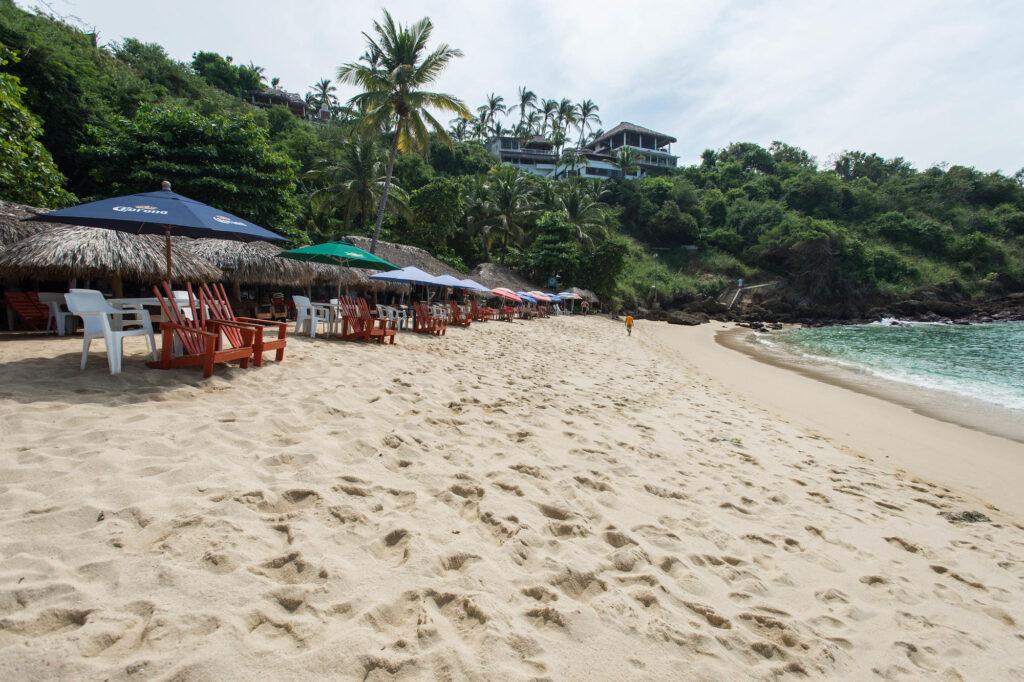 Beach at the Villa Mozart y Macondo