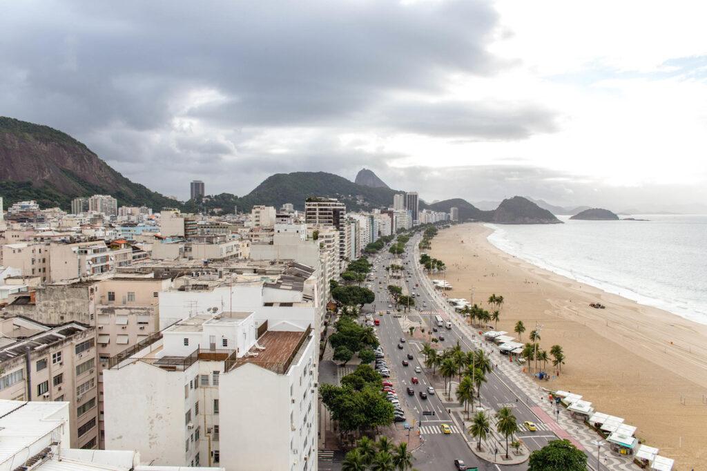 Beach at the JW Marriott Hotel Rio de Janeiro