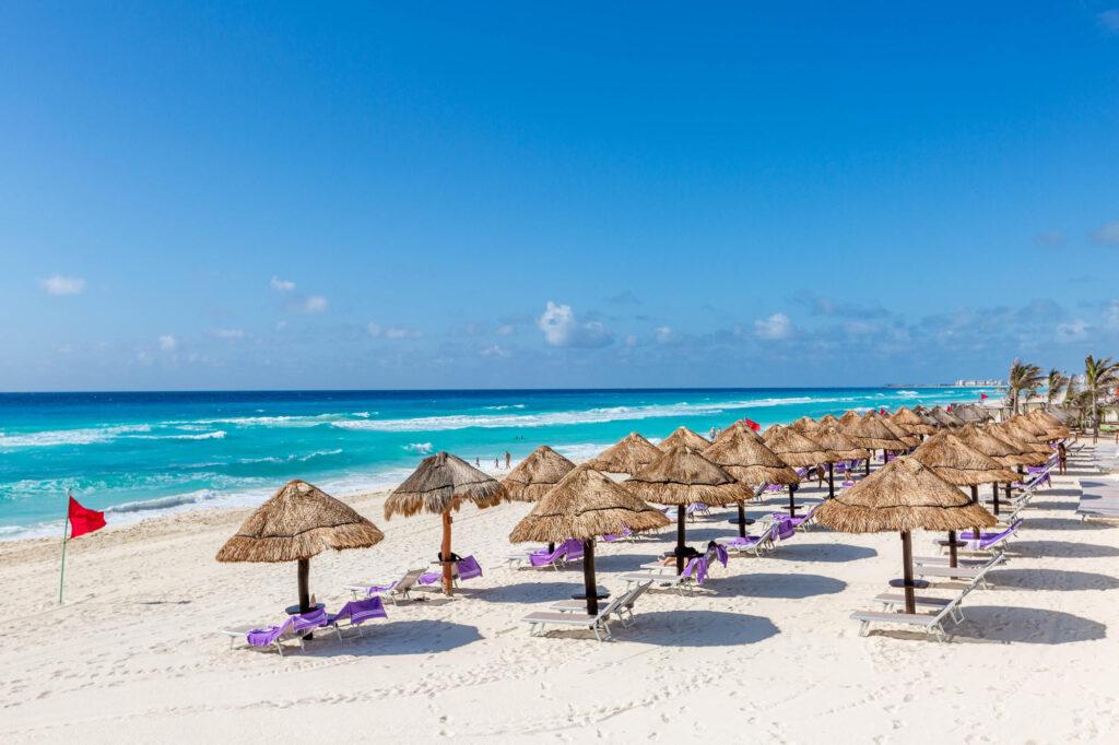 Beach at the Paradisus Cancun