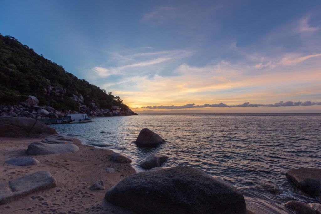Beach at the Ao Muong Resort