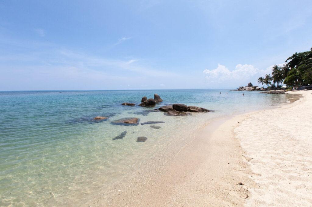 Beach at the Centara Villas Samui