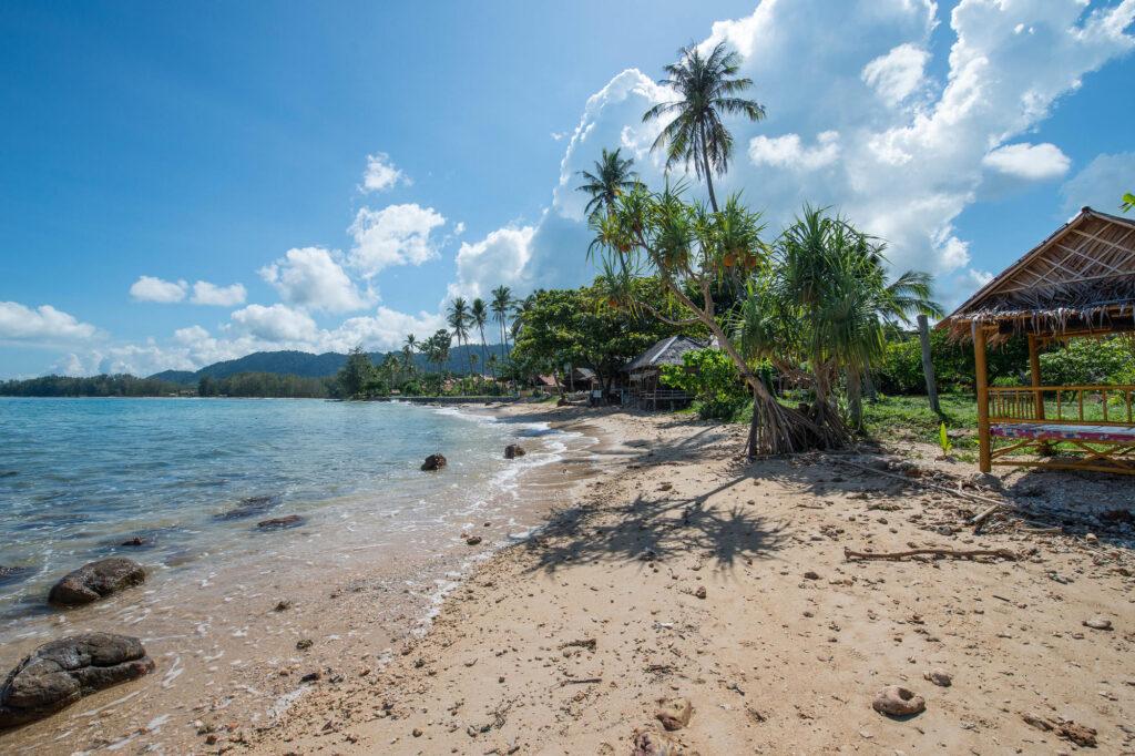 Beach at the Mook Lanta Resort