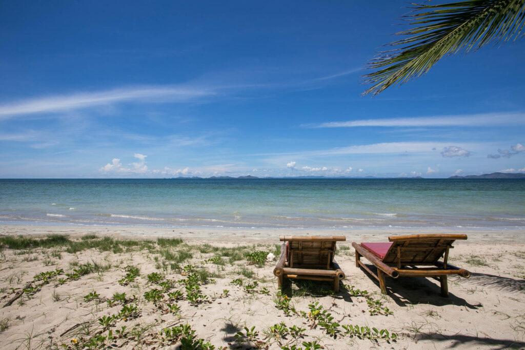 Beach at the Qi Palawan