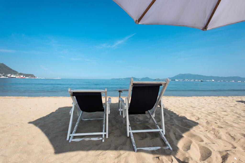 Beach at the Hotel La Posada