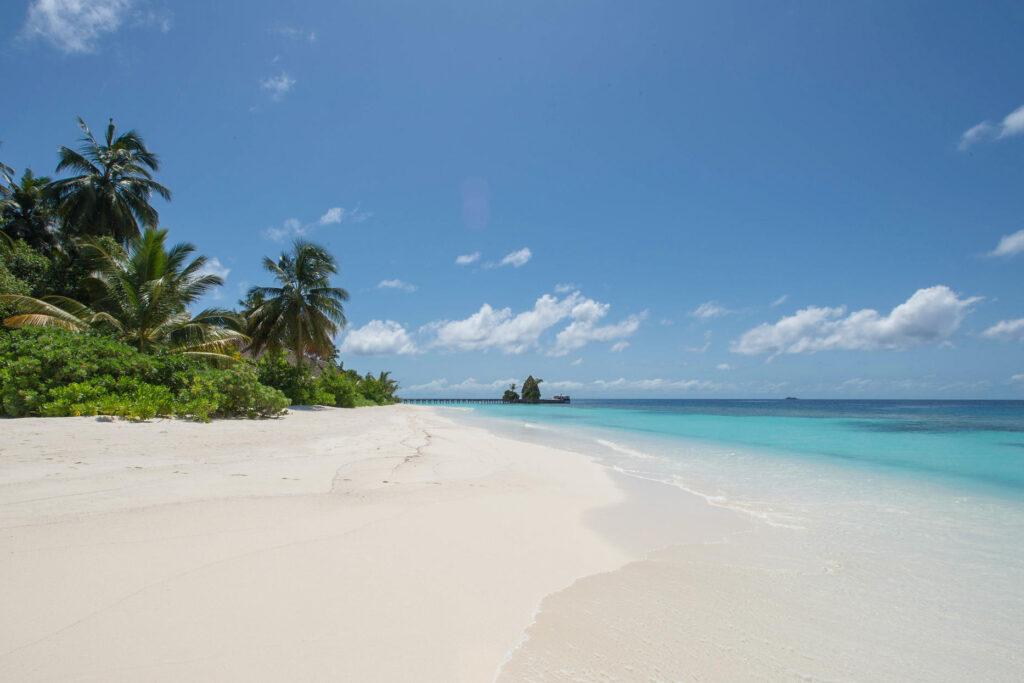 Beach at the Kandolhu Maldives