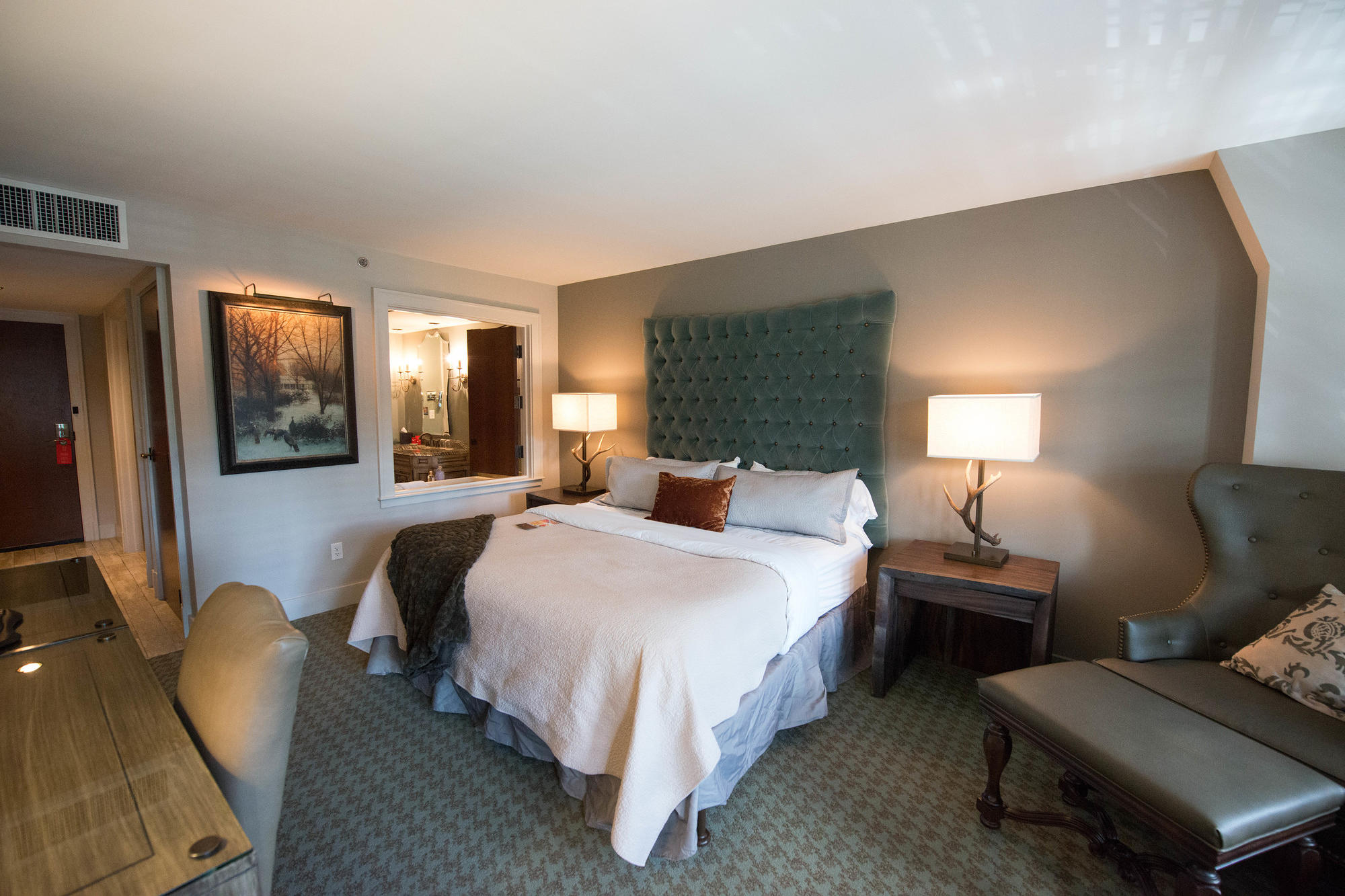 The Deluxe King Room at the Grand Bohemian Asheville