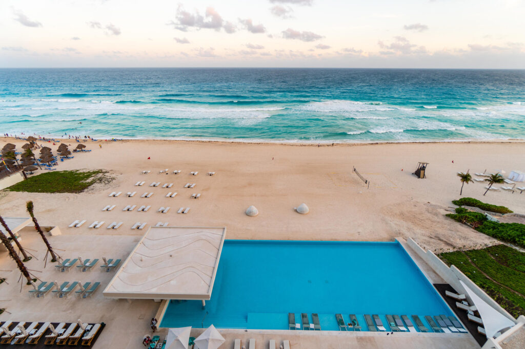 View from the Double Room at the Iberostar Cancun Star Prestige