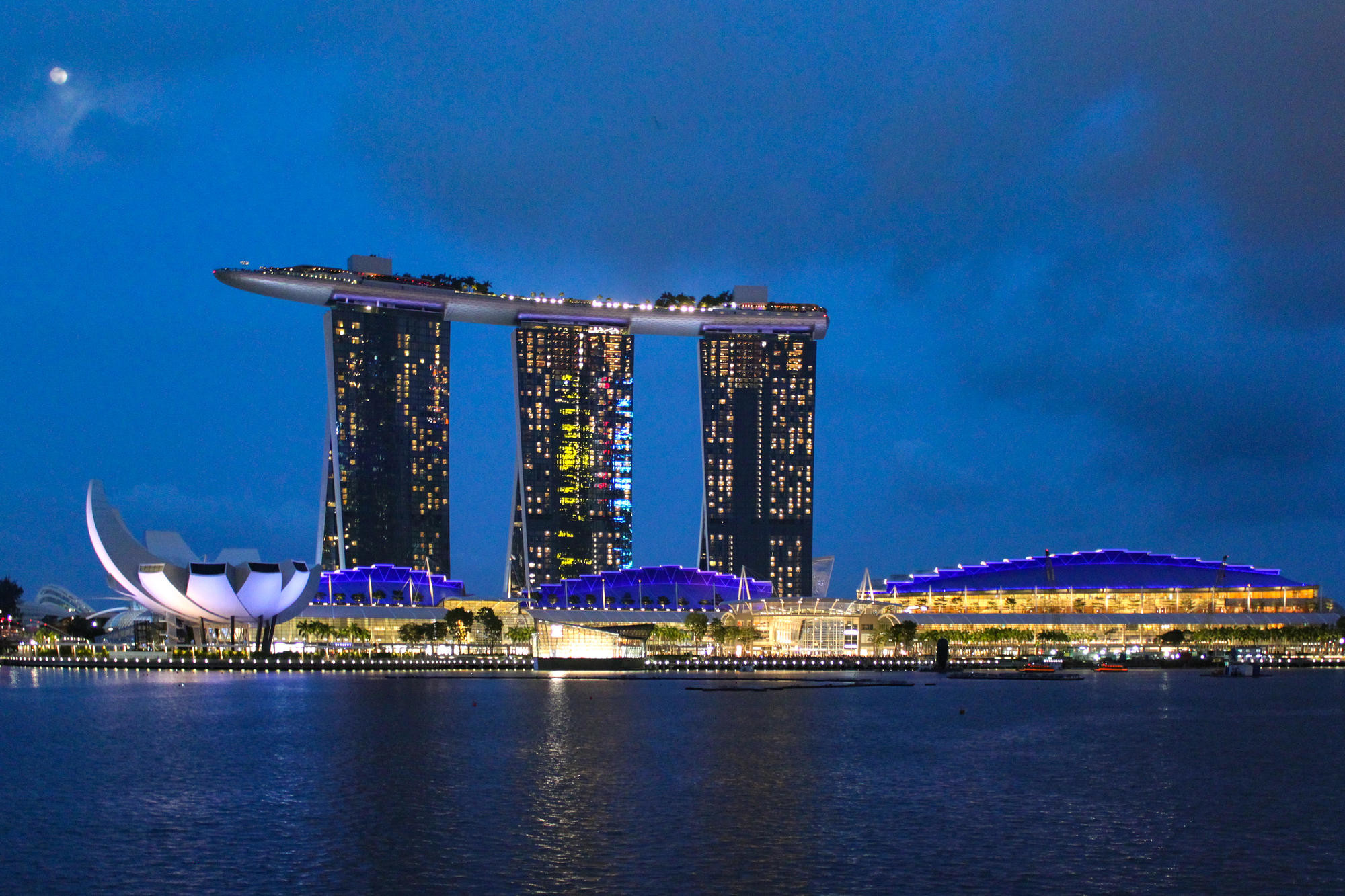 Marina Bay and the Marina Bay Sands in Singapore/Oyster
