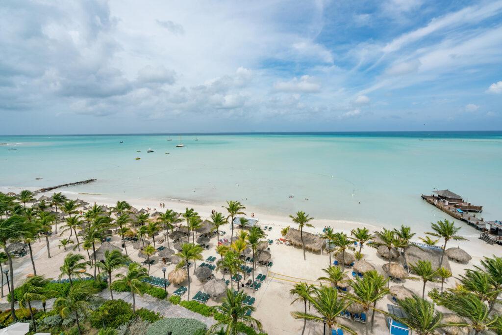 View at the Barcelo Aruba