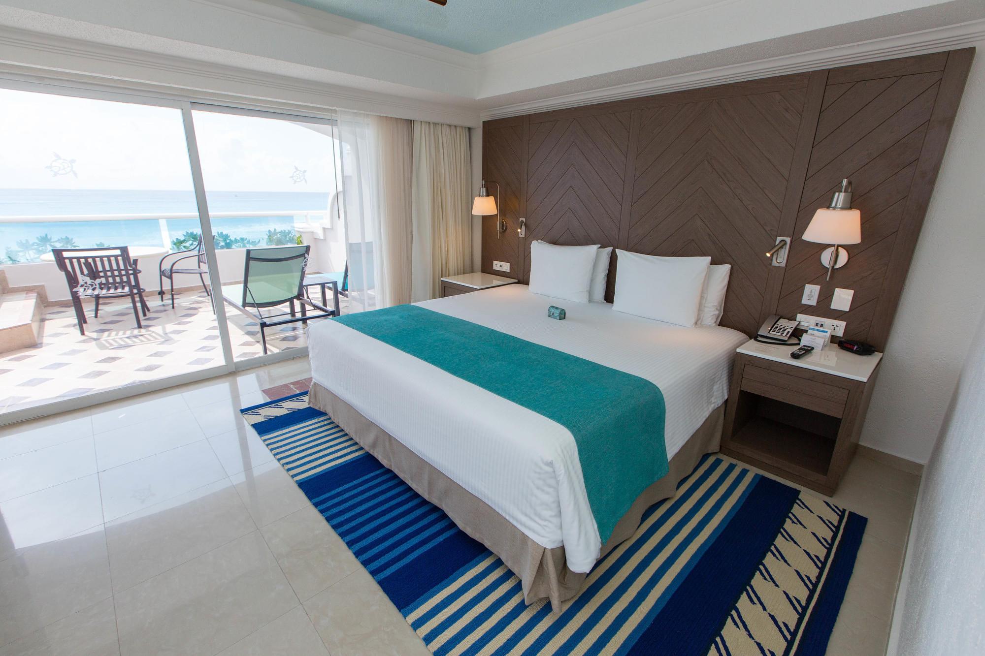 The Grand Master Ocean Front Room at Panama Jack Resorts Cancun