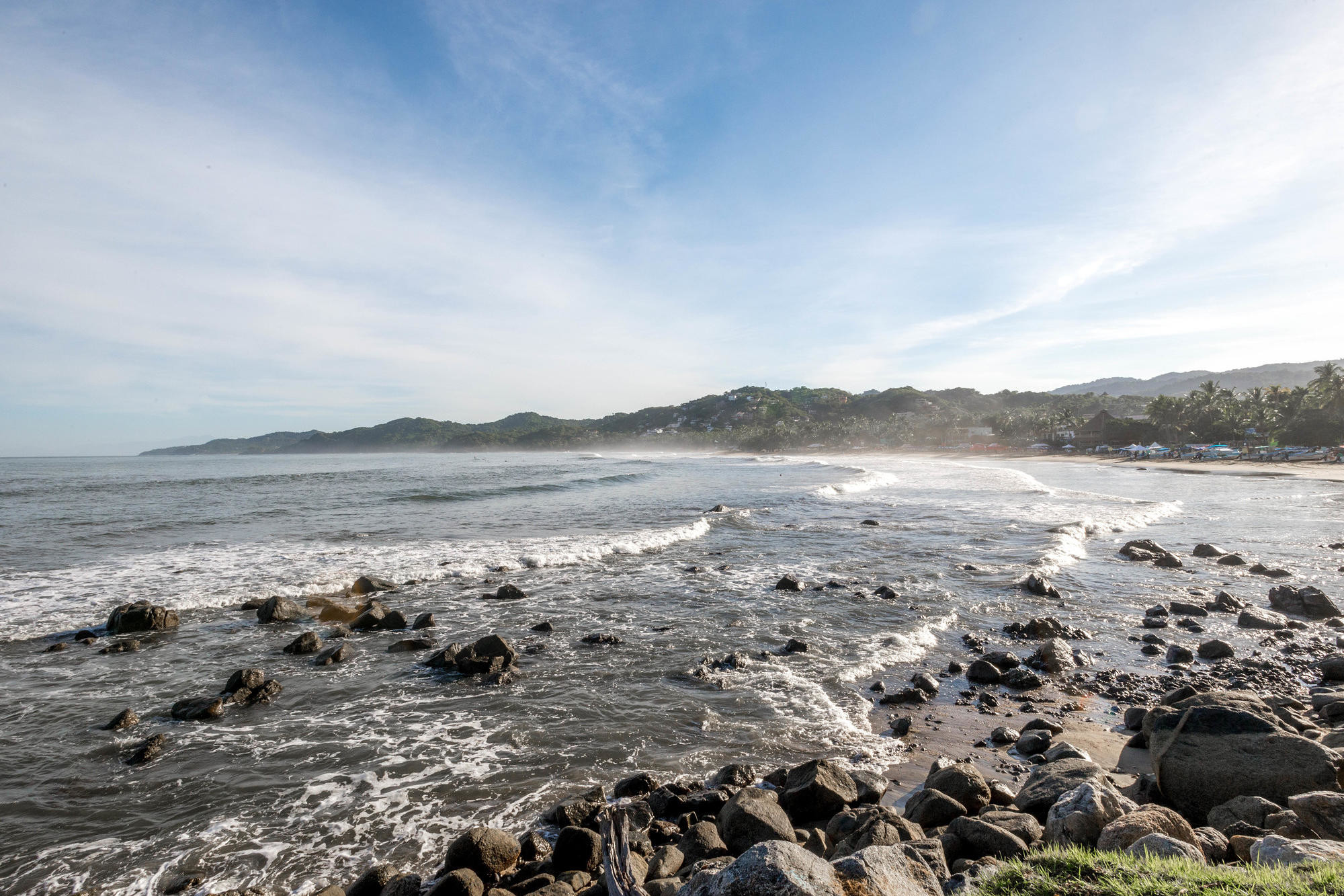 The Bay of Banderas in Sayulita, Riviera Nayarit/Oyster