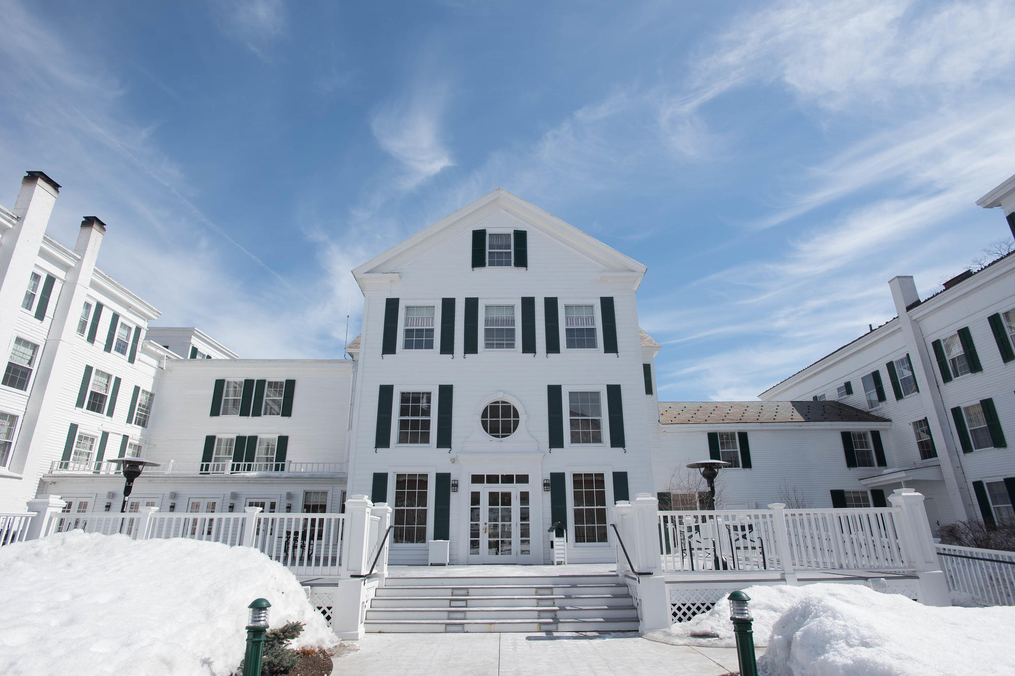 The beautiful The Equinox hotel in Manchester, Vermont