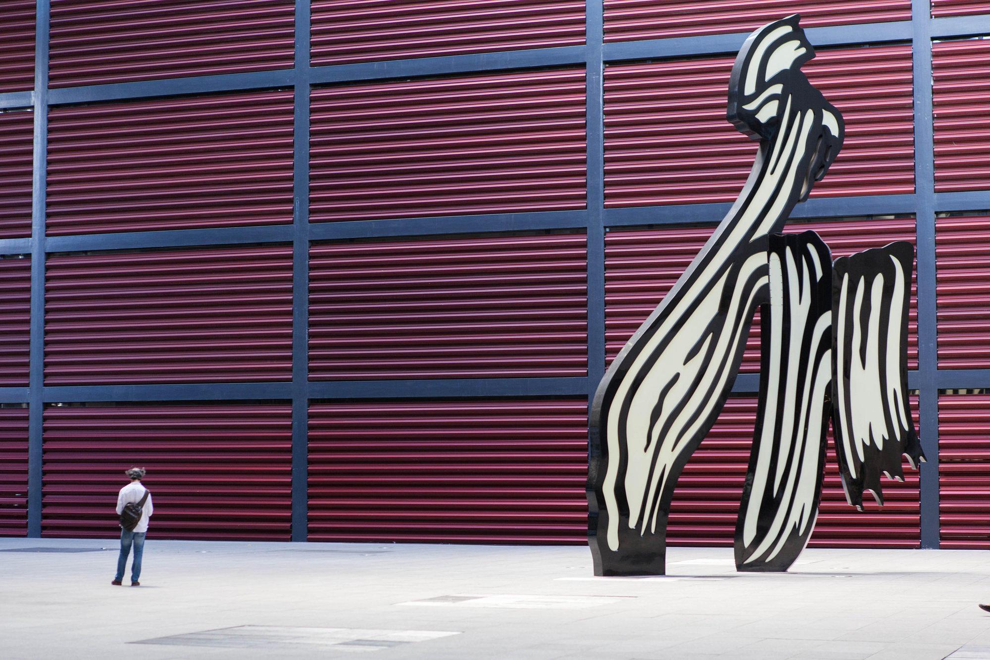 Monumental art at the Reina-Sofia in Madrid