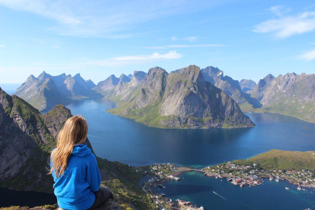 Solo traveler in Norway