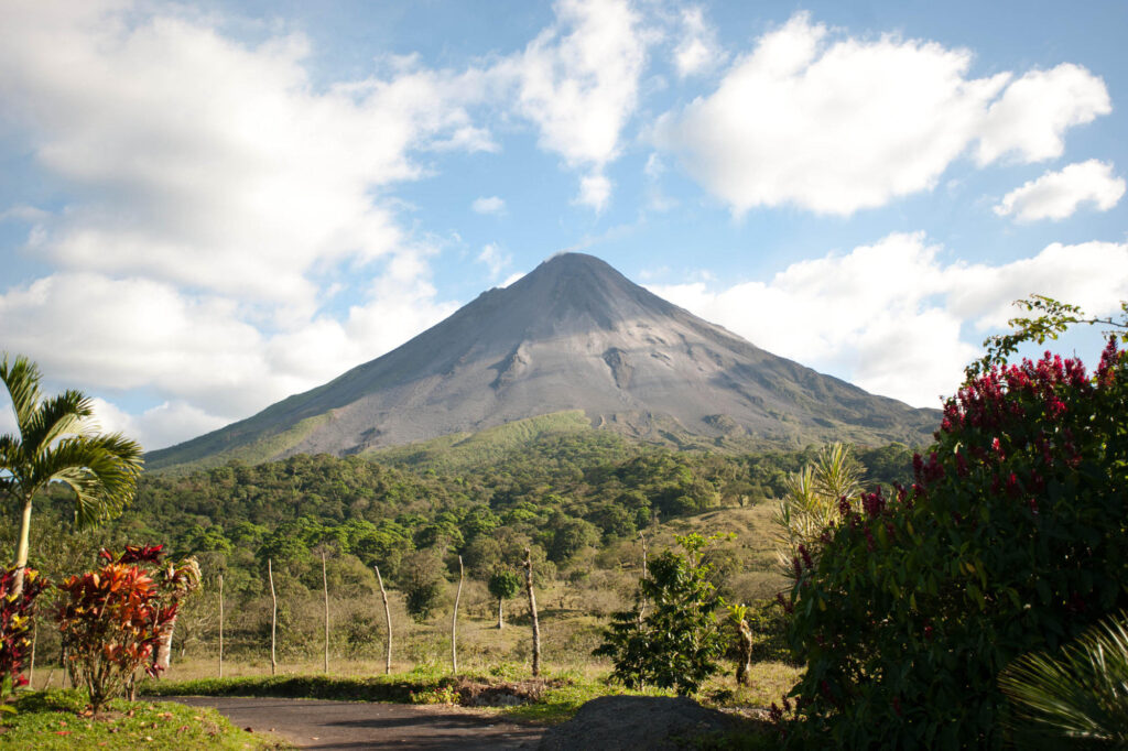 Grounds at Arenal Kioro Suites and Spa in La Fortuna, Costa Rica