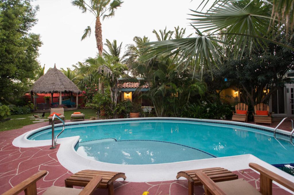 The Pool at the Boardwalk Hotel Aruba