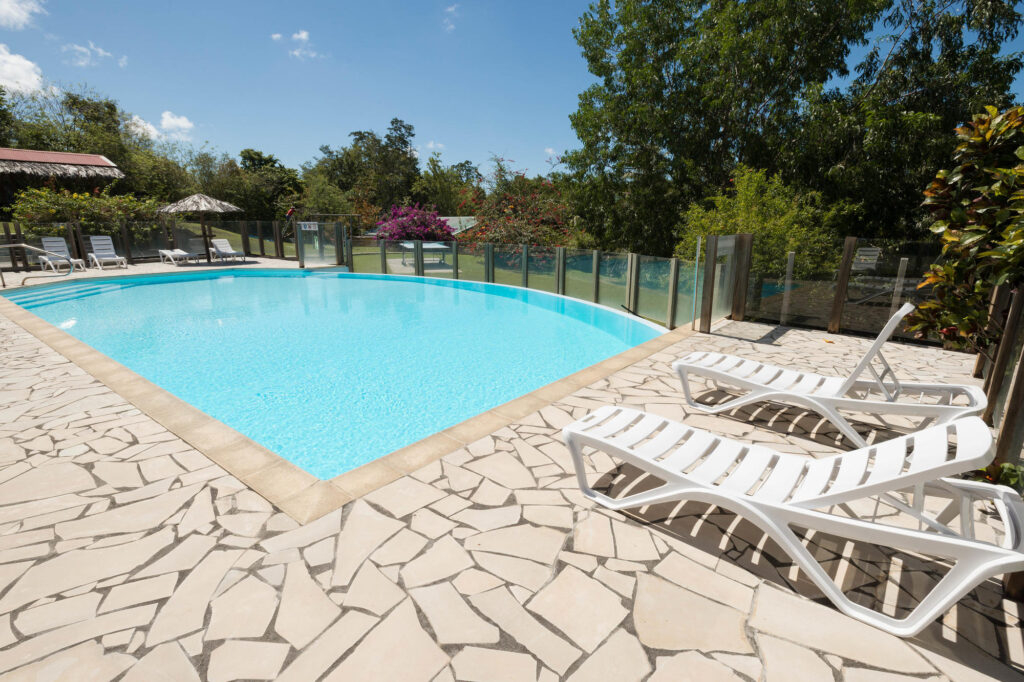 The Pool at the Residence Hoteliere Les Cayalines
