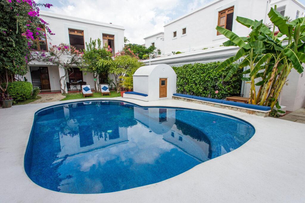 The Pool at the Casa Oaxaca