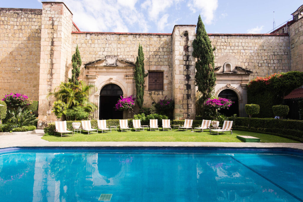The Pool at the Quinta Real Oaxaca