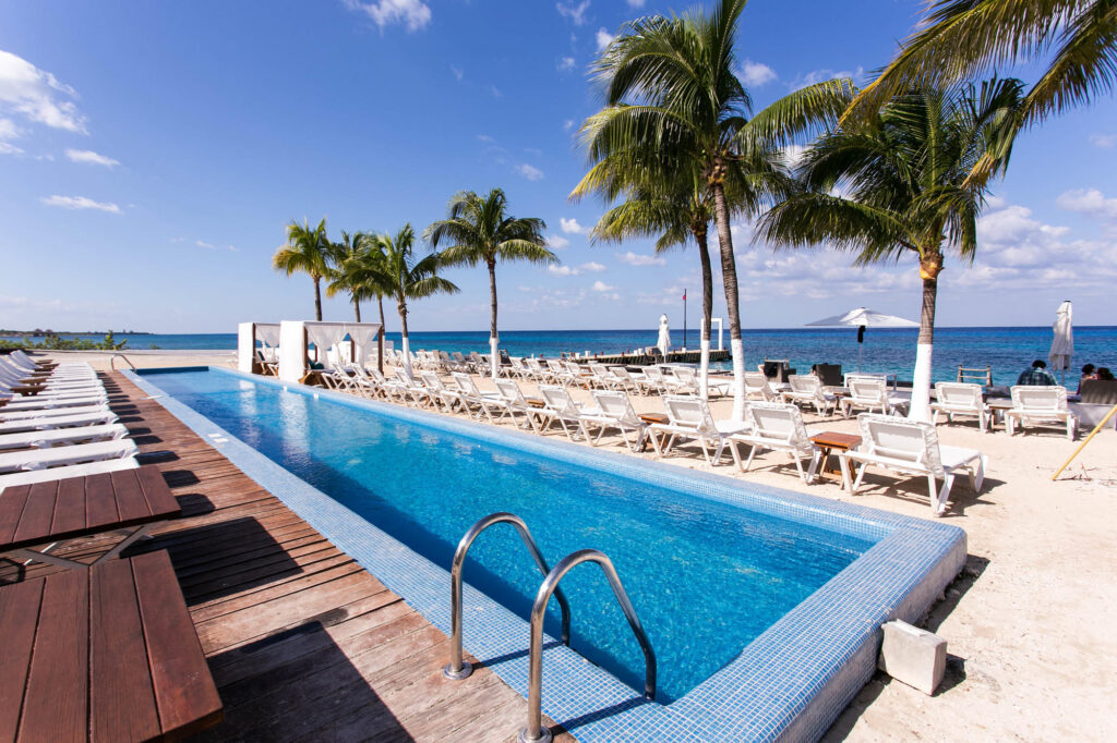 The Pool at the Fiesta Americana Cozumel All Inclusive