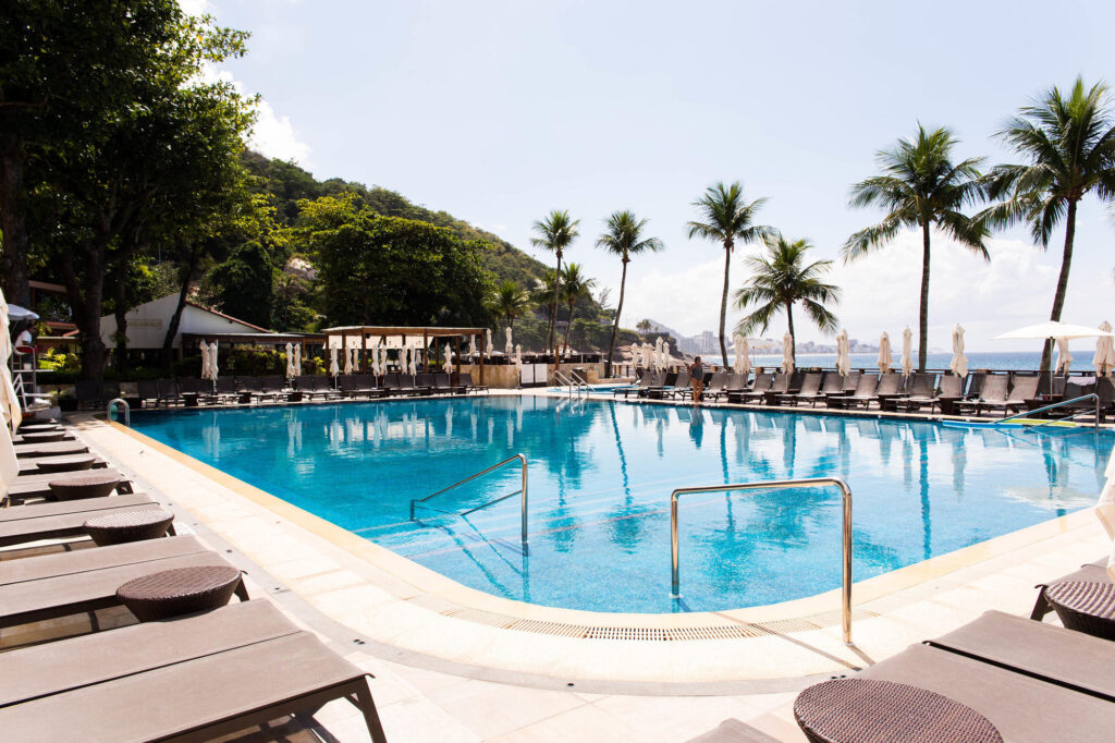The Pool at the Sheraton Grand Rio Hotel & Resort