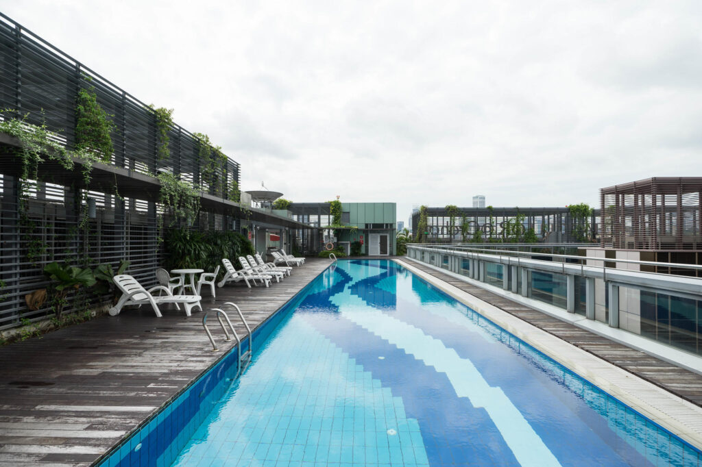 The Pool at the Hotel Chancellor at Orchard
