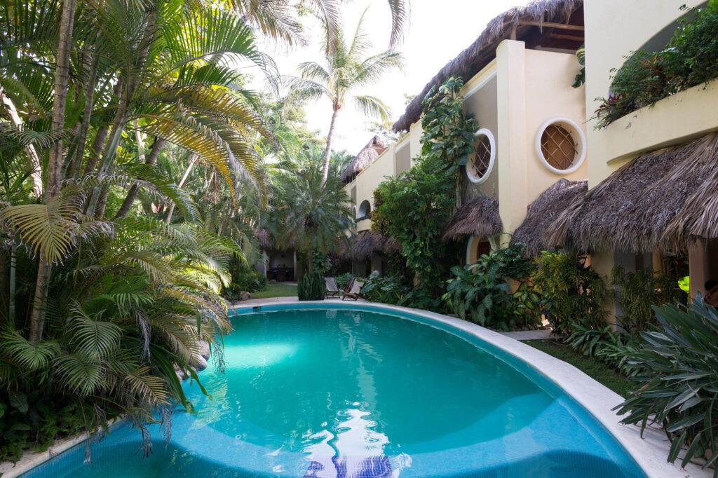 The Pool at the Hotel Villas Sayulita