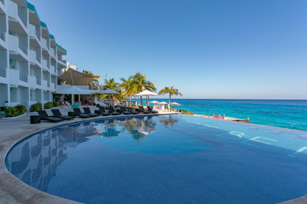 The Pool at the Hotel B Cozumel