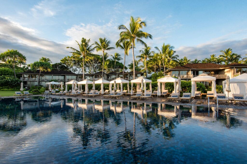 Pool at the Four Seasons Resort Hualalai