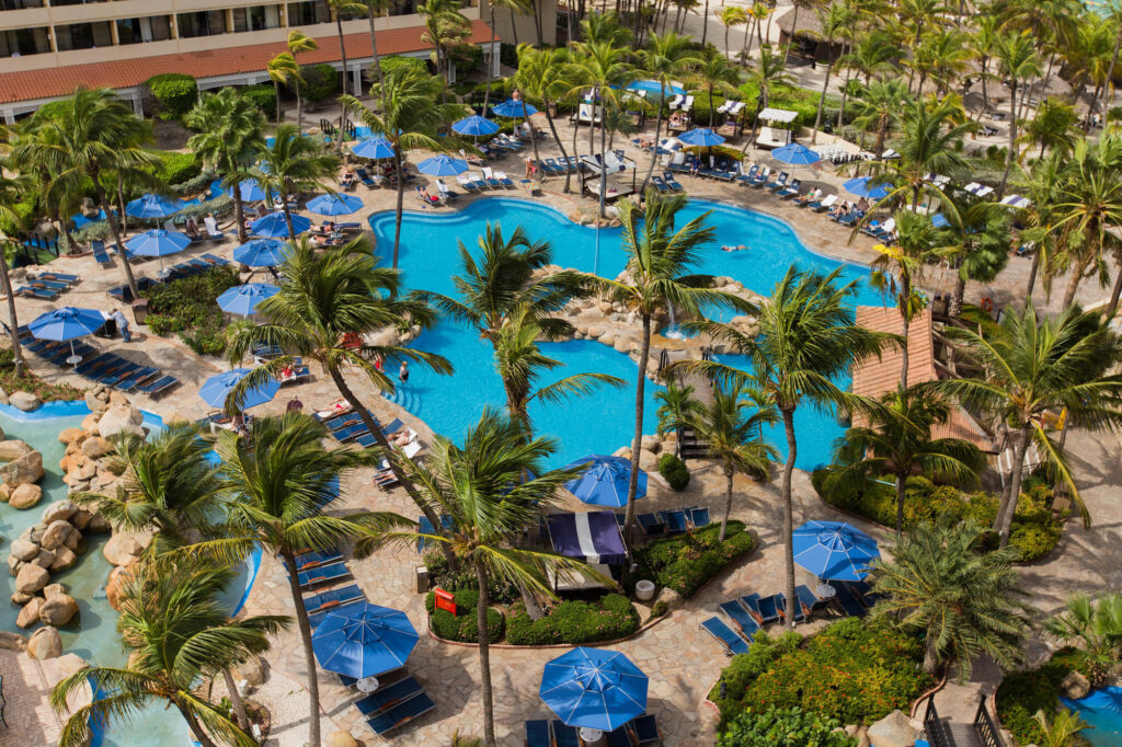 The Pool at the Barcelo Aruba
