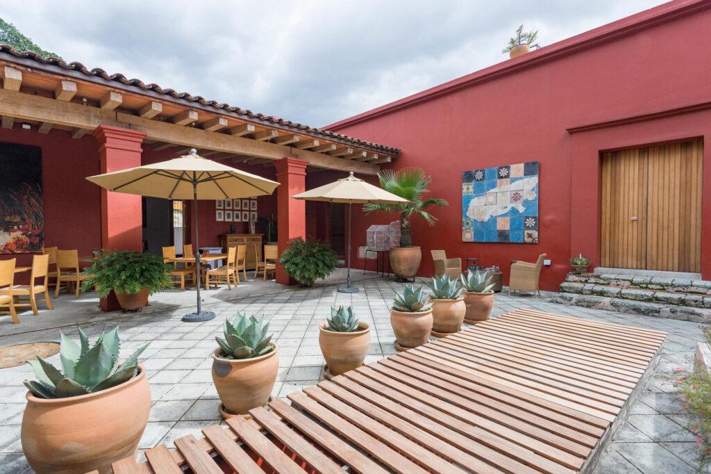 Restaurant at the Hotel La Casona De Tita