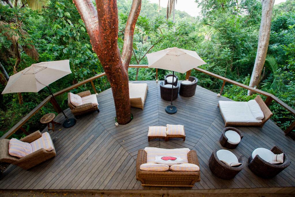 Lounge at the Haramara Retreat